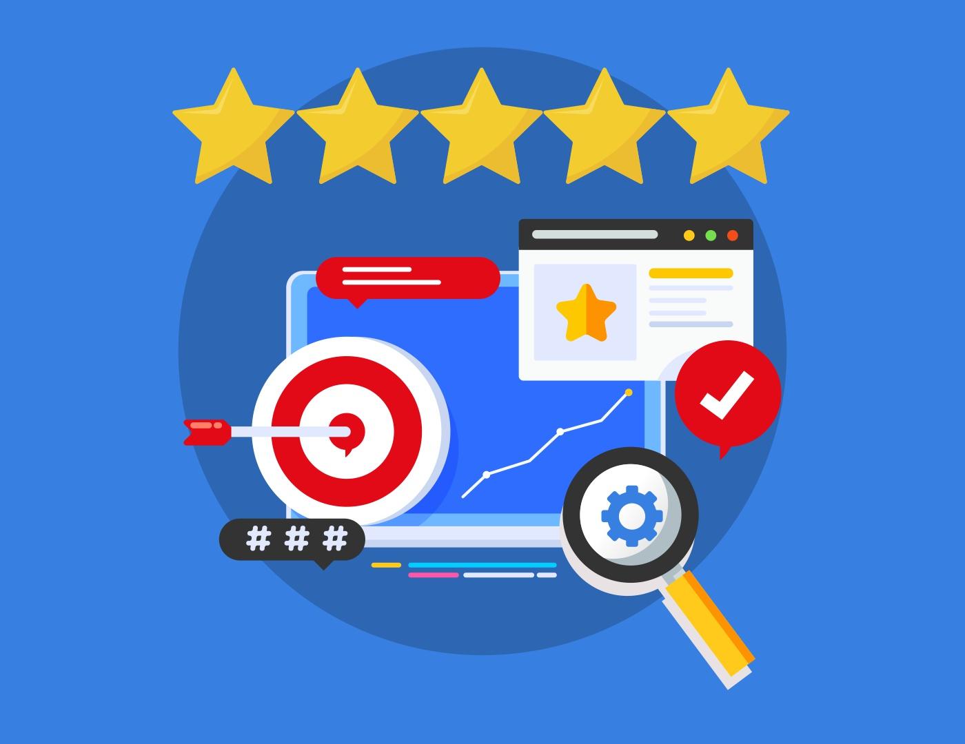 Uruchomienie gwiazdek ocen i ich wpływ na klikalność strony