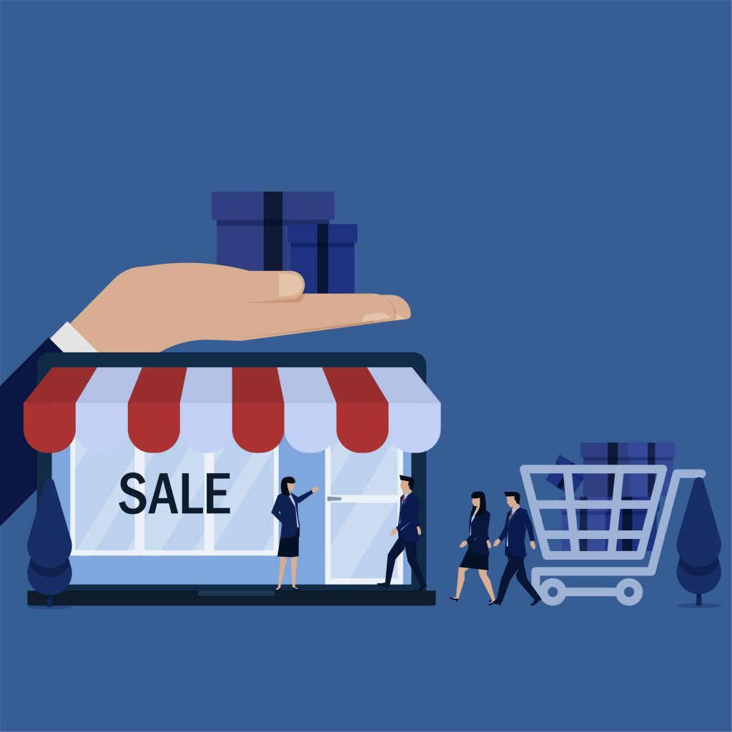 Sprzedaż w sklepie online